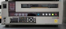 SONY UVW-1800P VCR PAL Format With fresh audio video and pinch roller replaced