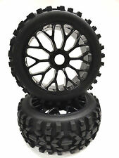 Apex RC Products 1/8 Off-Road Buggy Mesh Wheels / Attack Tires Kyosho #6040