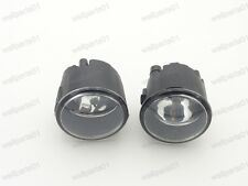 1Pair Clear Bumper Fog Driving Lights w/Bulbs For Nissan X-Trail 2007-2013