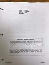 LINK BELT 210 LX CRAWLER EXCAVATOR SERVICE SHOP REPAIR WORKSHOP MANUAL