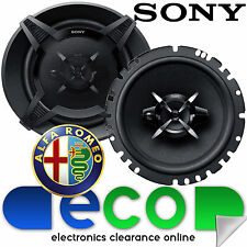 Alfa Romeo 166 98-07 SONY 6.5 Inch 17cm 540 Watts 3 Way Front Door Car Speakers