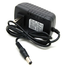 12V 2A AC Power Supply Wall Adapter Charger US 2 Flat Pin Prong Plug 100-240V sx
