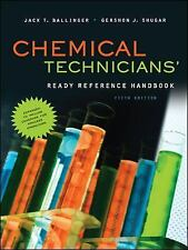 Chemical Technicians' Ready Reference Handbook, 5th Edition, Jack Ballinger, Ger