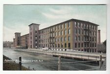 [50635] OLD POSTCARD ARMORY MILL IN MANCHESTER, NEW HAMPSHIRE