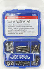 Attwood Stainless Steel 72 Piece Marine Boat Fastener Hardware Kit
