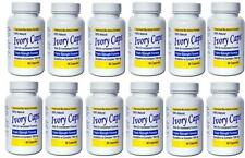 12x Ivory Caps Glutathione Skin Whitening Pills 1500 MG Thistle Exp 02/2019
