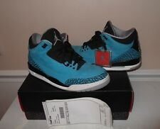 Mens NIKE AIR JORDAN Retro 3 Powder Blue 3's size US 11.5 athletic sneakers shos