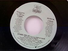 "STARS ON 45 ""SAM & DAVE MEDLEY""  #99636  MINT PROMO"