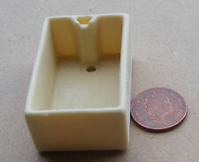 1:12 Cream Oblong Butler - Scullery Sink Dolls House Miniature Kitchen Accessory