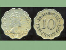 ILE MAURICE   10  cents 1975