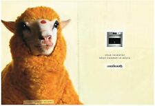 PUBLICITE  2003    ROSIERES  ( 2 pages)  four  éléctromenager pour le mouton