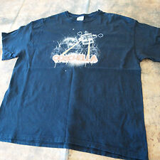 2008 Coachella Retro Robot Eye Lasers Black Shirt - Roger Waters - Portishead