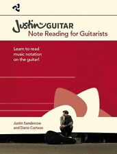 Justinguitar.com Note Reading For Guitarists LEARN TO PLAY GUITAR MUSIC BOOK