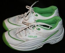 Womens Healer Sneakers Athletic Shoes 6 Korean White Green Walking Toning Korea