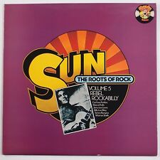 SUN: Roots of Rock VOLUME 5 Rebel Rockabilly UK lp Carl Perkins Jerry Lee Lewis