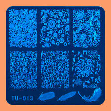 NEW Stamping Manicure Image Nail Art Image Stamp Template Tool Plate Polish T-13