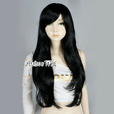 Adventure Time Marceline the Vampire Queen Black Wavy 70CM Anime Cosplay Wig