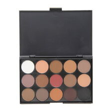 Professional 15 Colors Warm Nude Matte Shimmer Eyeshadow Palette Cosmetic BE