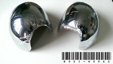SET MK2 MINI CHROME WING MIRROR COVERS COOPER S CLUBMAN ONE JCW R56