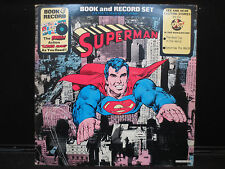 Superman Book and Record Set - Power Records BR 514 Stereo