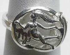 LOOK Virgo Silver Zodiac Astrology Horoscope ring Jewelry