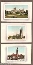 VINTAGE POSTCARD UNUSED LOT UNIVERSITY CITY HALL & METRO CHURCH TORONTO CANADA