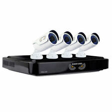 Night Owl 8-Channel HD Analog DVR with 1TB HDD, 4 1080p Cameras