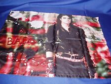 "Michael Jackson  ""Bad LP Cover Pose"" Banner  27"" x 20""  New"