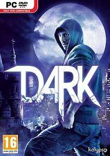 PC Computer gioco Dark della Kalypso DVD spedizioni MERCE NUOVA