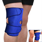 Sports Adjustable Knee Patella Sleeve Wrap Support Brace Cap Stabilizer Blue