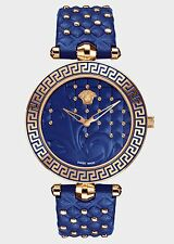 Versace Womens VK7040013 Vanitas Rose Gold Interchangeable Leather Band Watch
