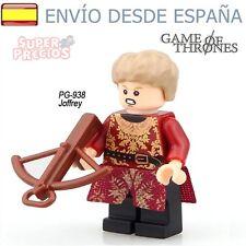 Juego de Tronos ♦ Figura Joffrey Lannister Compatible con Lego ♦ Game of Thrones