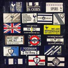 100 x Tottenham Stickers - Based on Spurs Poster Shirt Scarf Pin Badge Programme