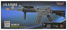 "UKARMS RIFLE AIR SEMI/FULL AUTO NEW M4A1 BI-3081A Electric NEW 32.5"" SALE"