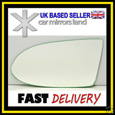 Left Passenger  Wing Mirror Glass CONVEX Vauxhall Zafira A 1999-2005