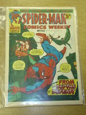SPIDERMAN BRITISH WEEKLY #43 1973 DEC 8 MARVEL
