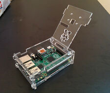 Raspberry Pi Clear case with Camera mounting for model 2/B+ (1 Gb ) RPIC102