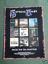 DEPECHE MODE - MAGAZINE CLIPPING / CUTTING- 1 PAGE ADVERT