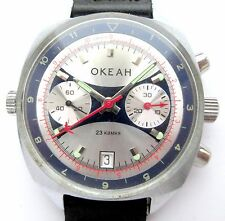OKEAN Commanding POLJOT Russian Chronograph NAVY SOVIET WATCH