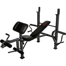 Marcy Standard Workout Olympic Weight Lifting Bench with Butterfly Gym Home
