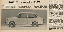 W8510 FIAT 850 - Pubblicità 1964 - Vintage Advertising