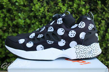REEBOK INSTA PUMP FURY ROAD SG SEASONAL GRAPHIC SZ 9 BLACK WHITE V68799