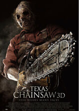 Texas Chainsaw 3D Reproduktion Film POSTER