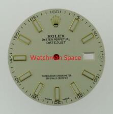 Original Men's Rolex Datejust II 116333 Ivory Luminous Stick Dial 2Tone #A24