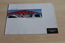 120309) Chrysler C-300 Letter Car HEMI Prospekt 03/2004