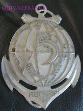 TB007 - MEDAILLE PLAQUE 5° Régiment Inter Armes d'Outre Mer