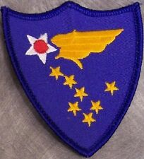 Embroidered Military Patch USAF Air Force Alaskan Air Command NEW