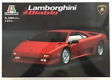 Italeri 3685 Lamborghini Diablo 1/24 Modelo Kit Nuevo En Caja