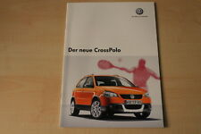 68384) VW Polo 9N CrossPolo Prospekt 10/2005