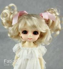 "Fatiao - New  BJD Dollfie Lati Yellow Pukifee 5-6"" Dolls Wig - Blonde"